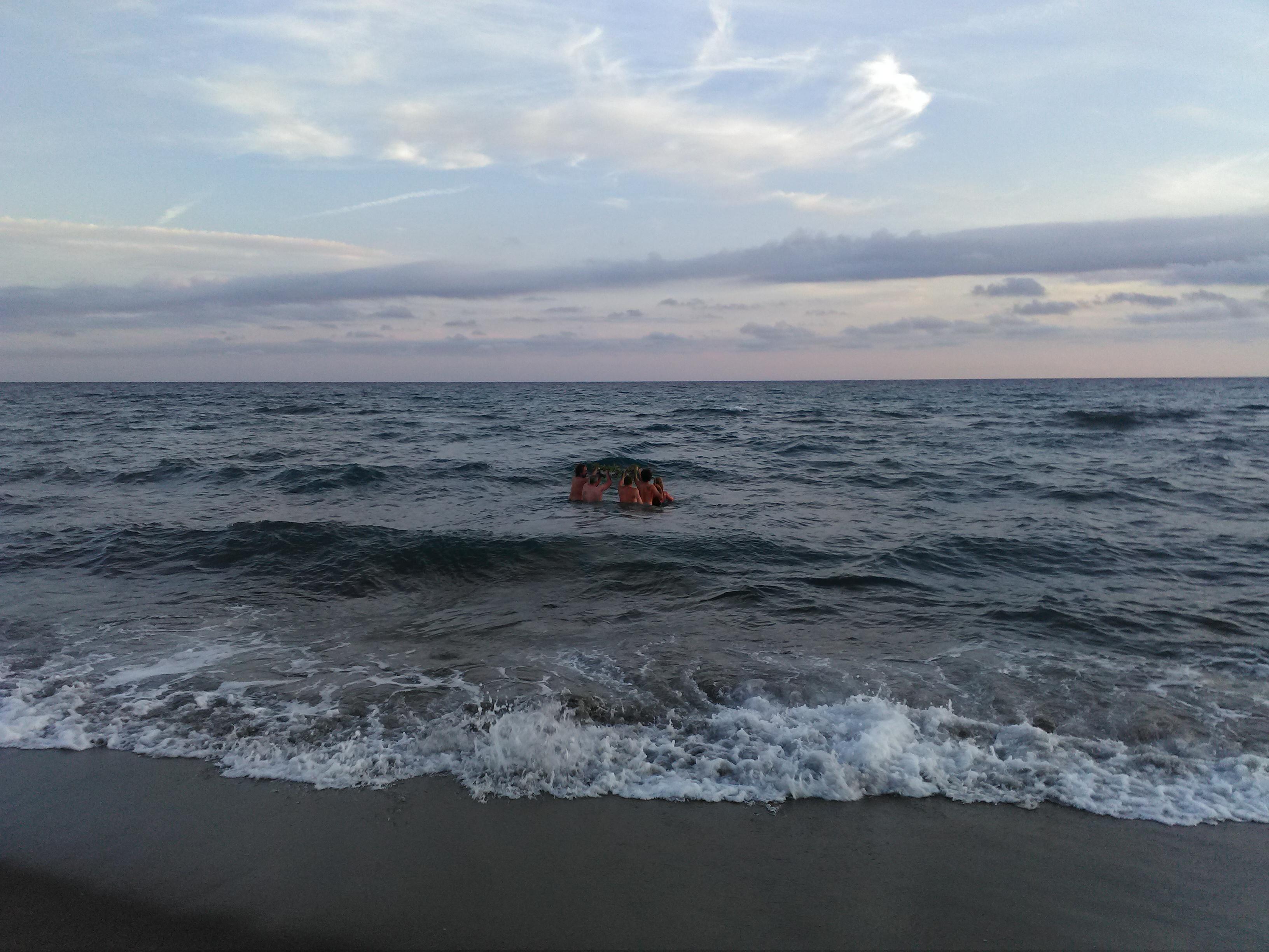 cerimonia per il mare